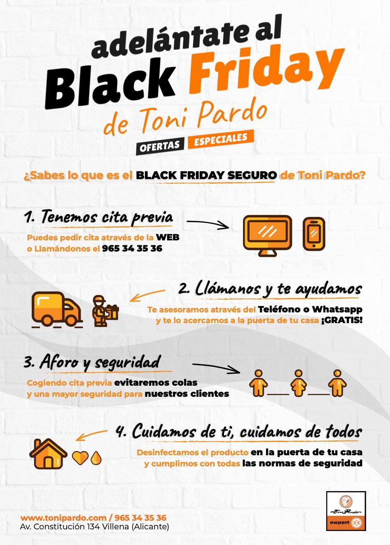 Black Friday seguro de Toni Pardo